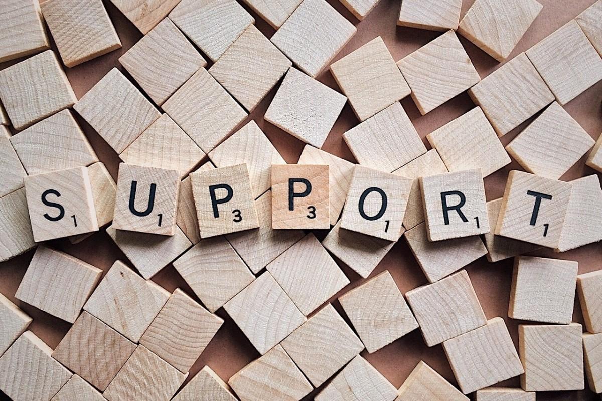 Help versus support