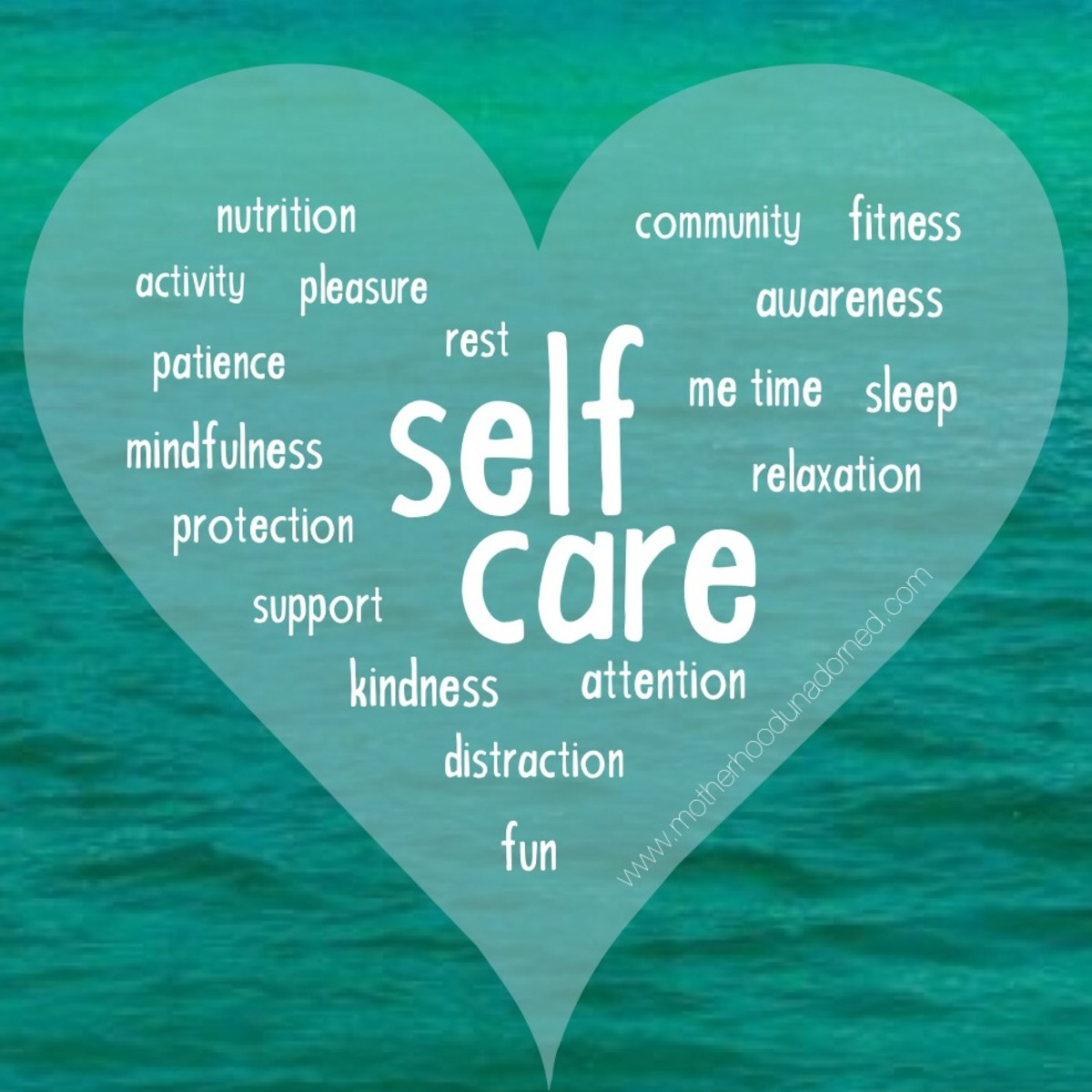 What is your personal definition of self-care?