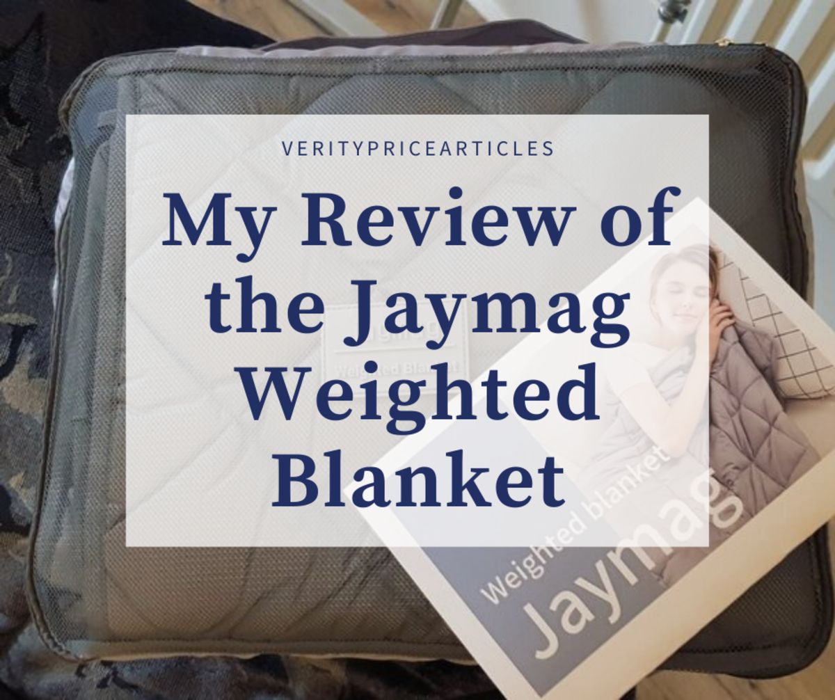 My review of the the Jaymag weighted blanket