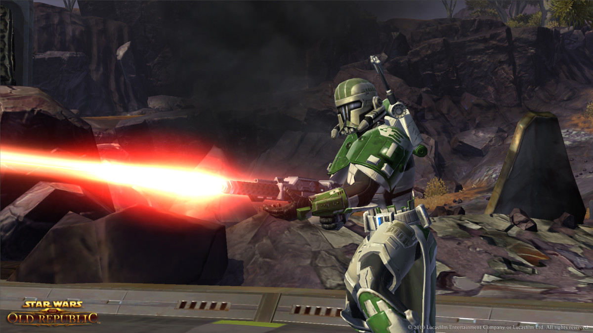 The Heavy Armor you create is used by the Trooper and Bounty Hunter classes.