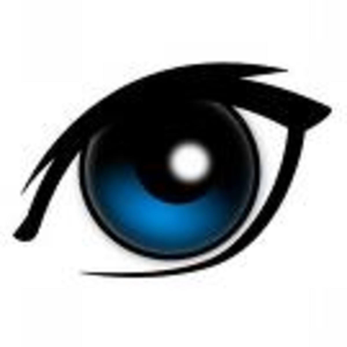 Each eye has six muscles.