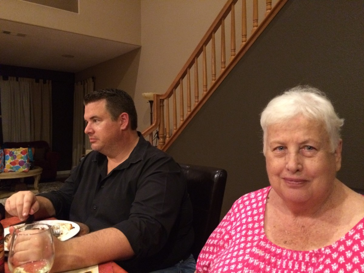 Before getting hearing aids, my mom never participated in family dinner conversations