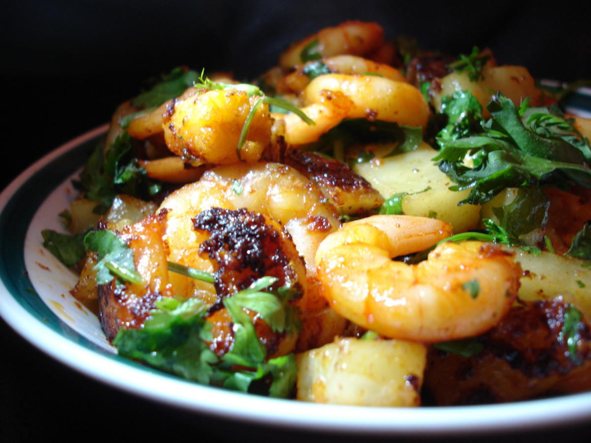 The textural awesomeness of shrimp mixed with a vast array of spices all make for a dish I would really enjoy.