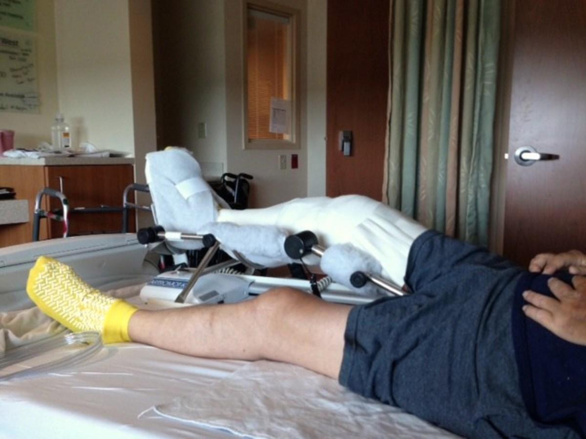 knee surgery machine