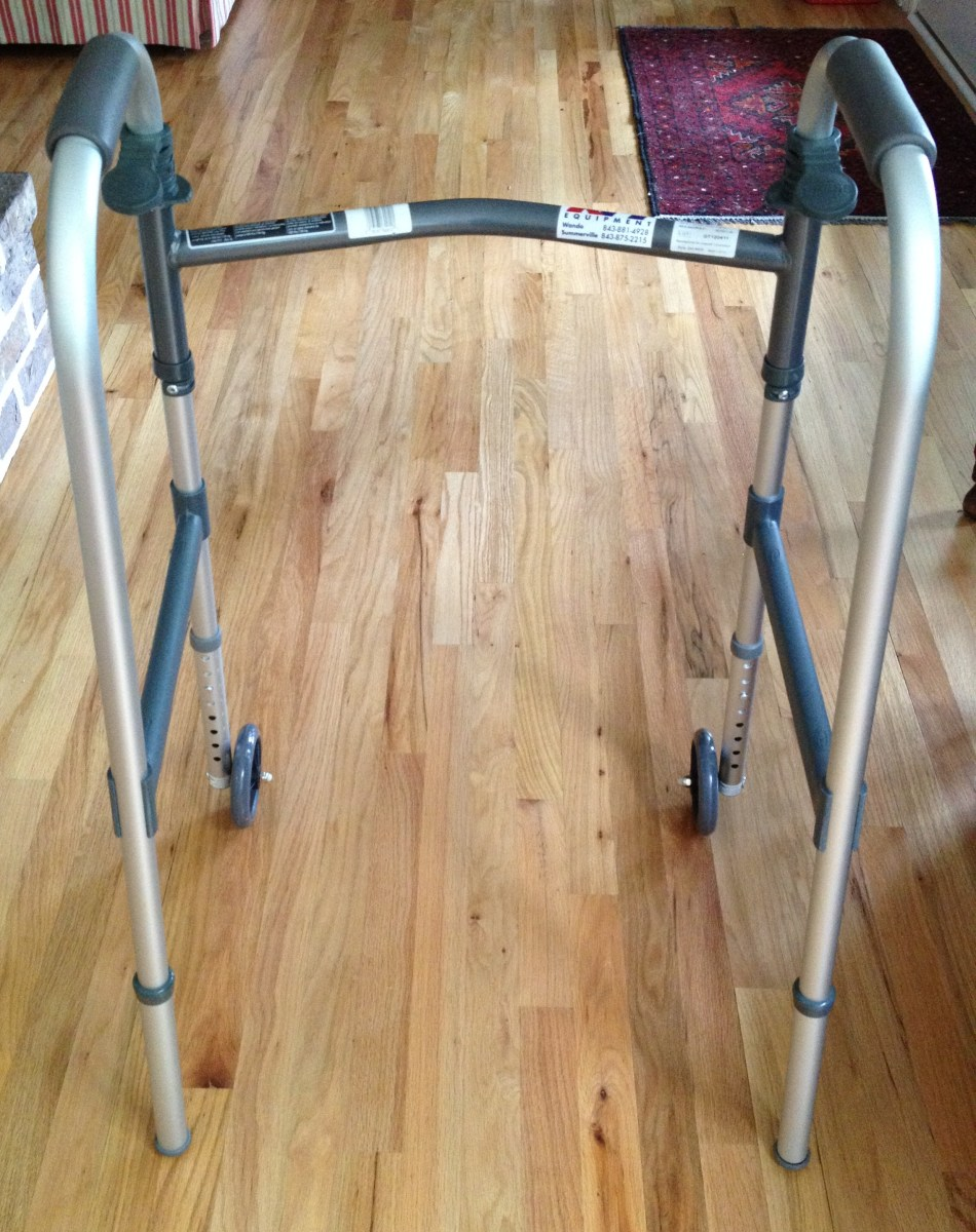 Typically, you will need to use a walker for one week after hip replacement surgery.