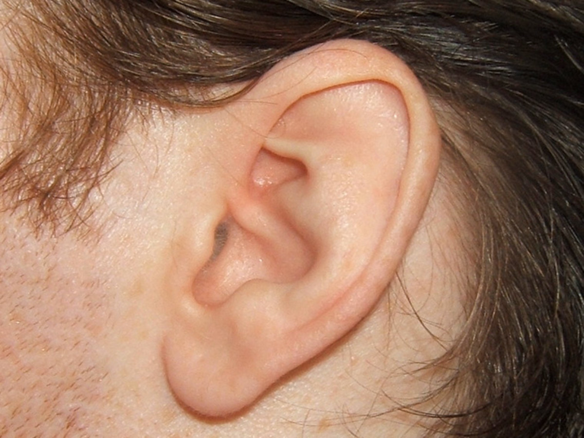 Use your ears. Voices provide a very good way to identify people.