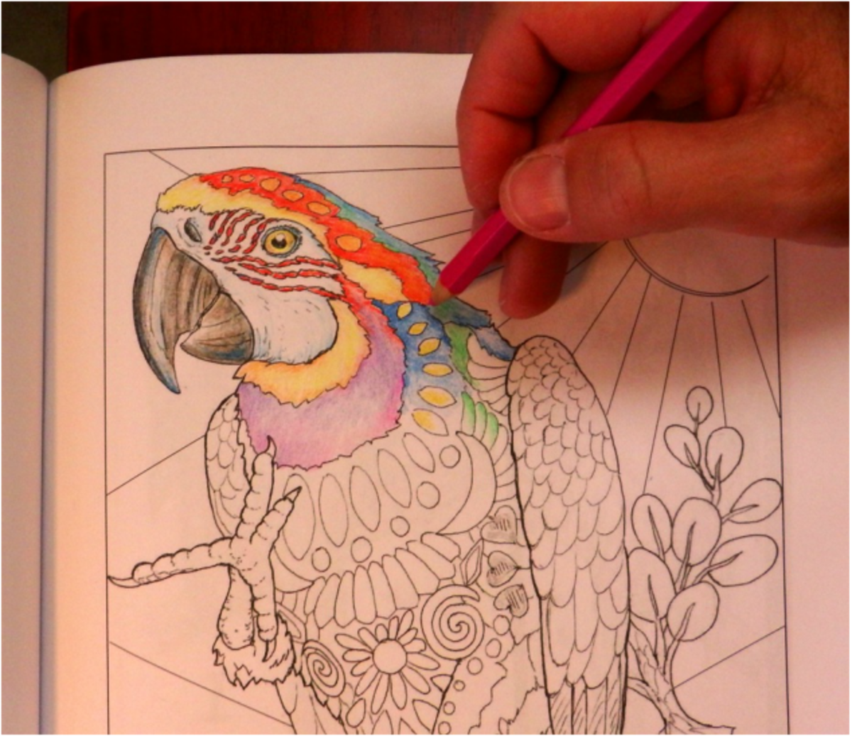 Coloring books are popular gifts for their stress relieving benefits