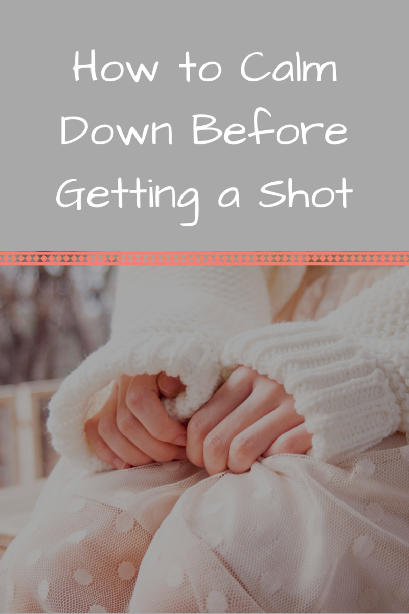 How to Calm Down Before a Shot
