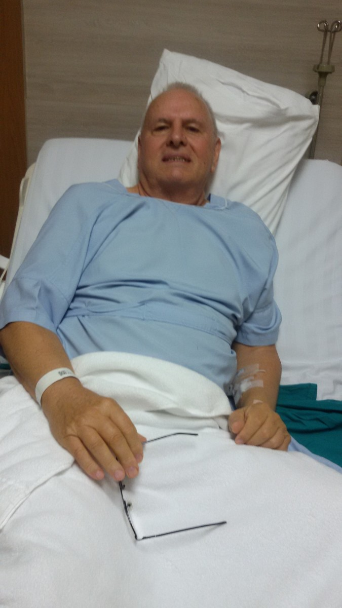one day after my hernia operation