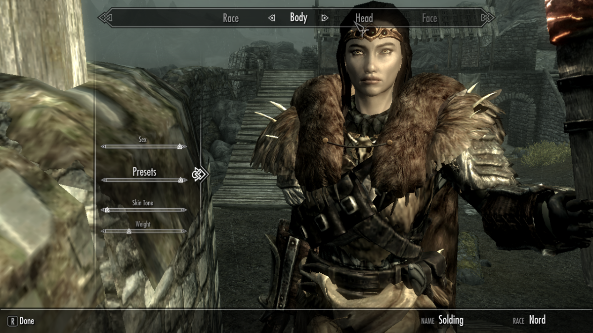 How to Create, Save, and Change Skyrim Character Presets