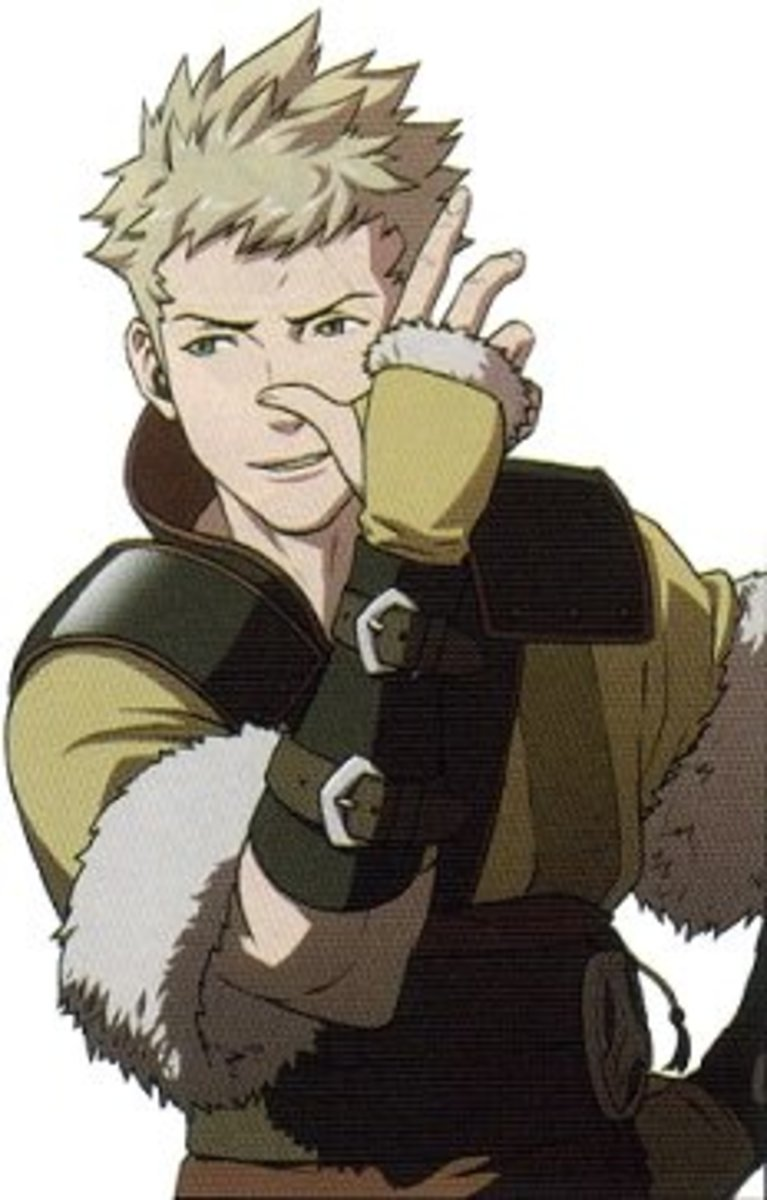 Owain, Lissa's son. Actual hair color may vary depending on the father.