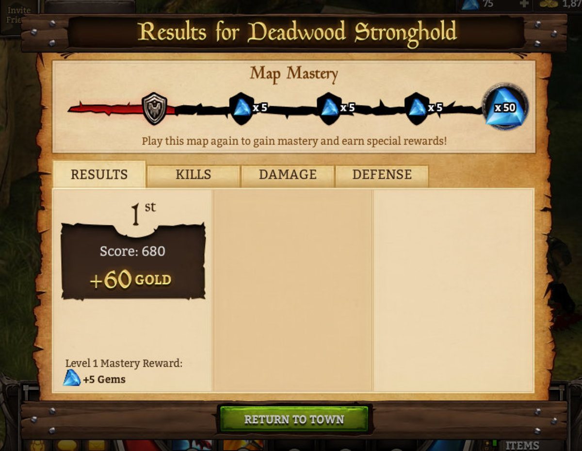 Mastery Rewards
