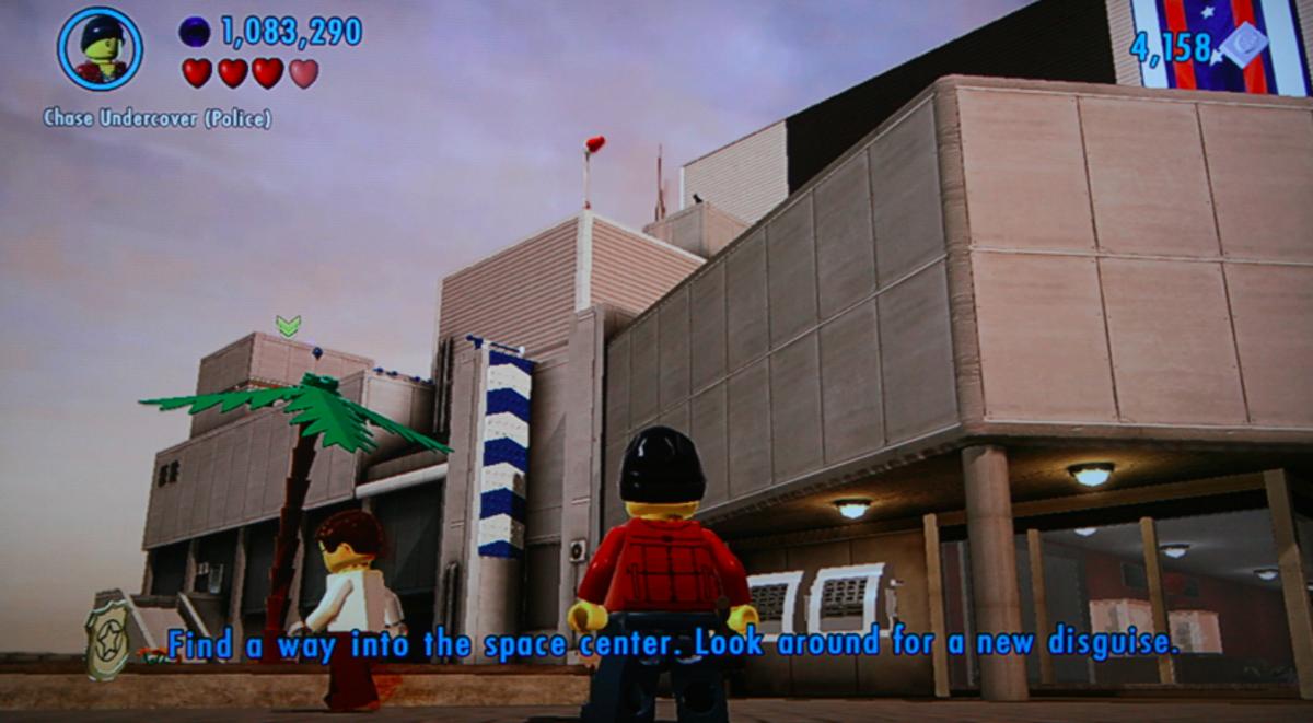 Lego City Undercover Apollo Island Space Center