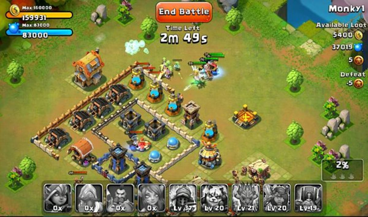 clash of clans game for free online