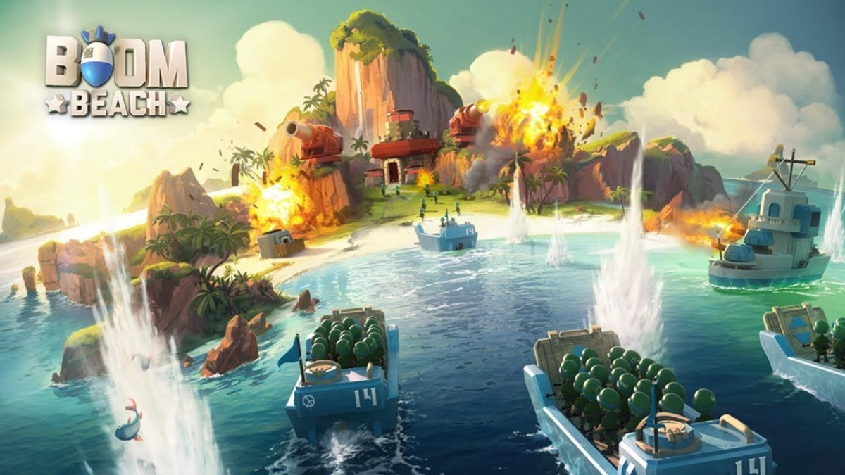 """""""Boom Beach"""" features a wide variety of unique islands."""