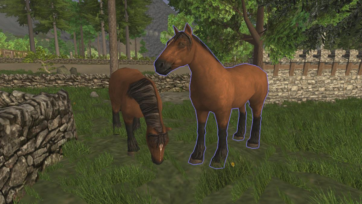 A couple of fine horses.