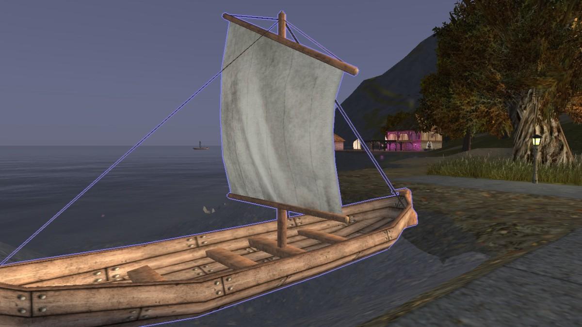 A fine sailing boat.