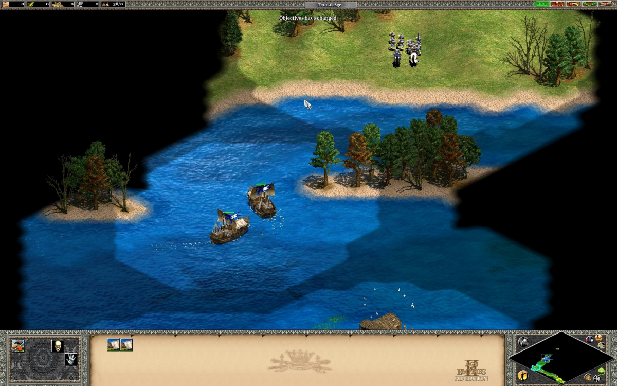 Moving the army across the river to its north side.