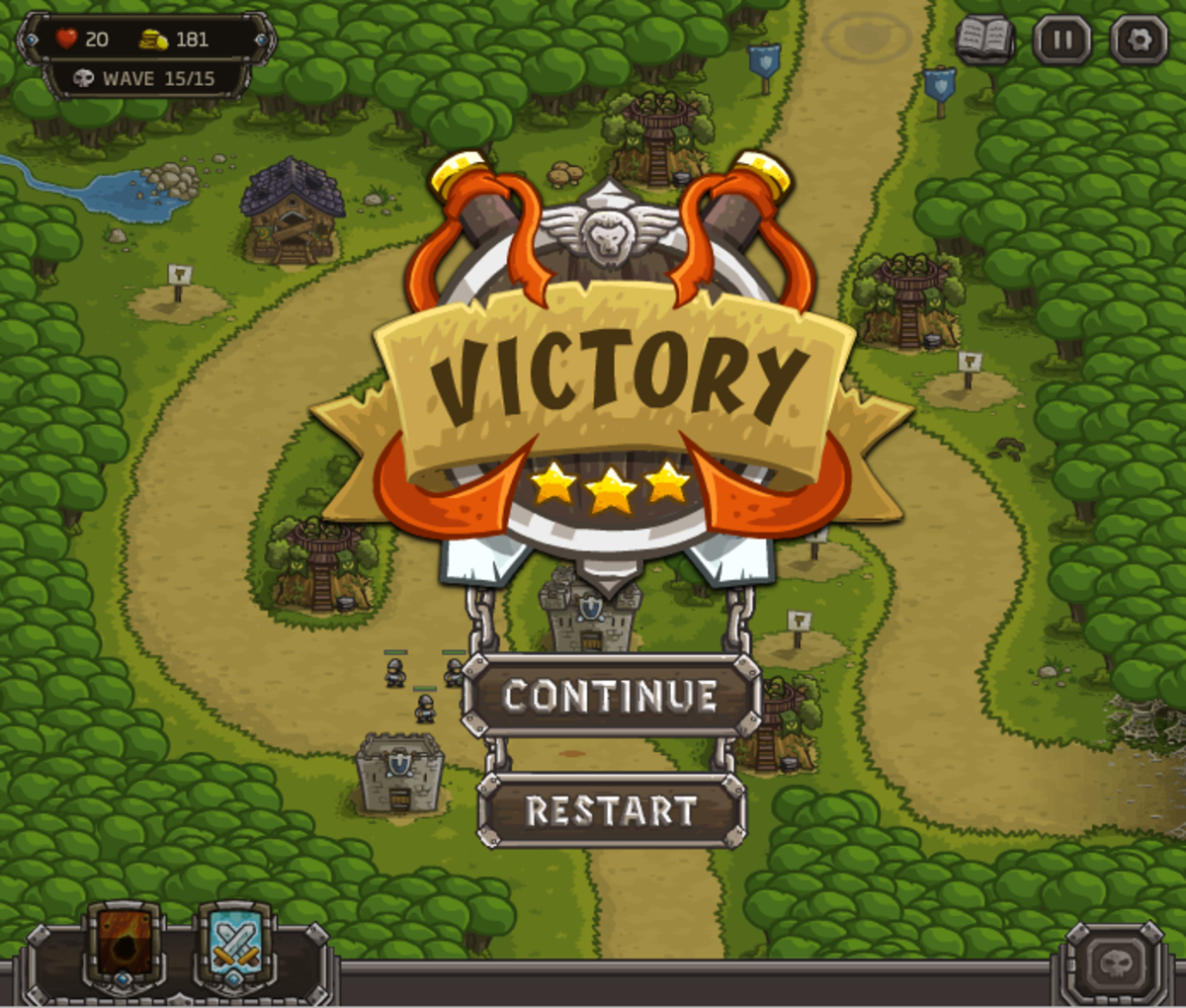 """The action is picking up in """"Kingdom Rush"""", and Silveroak Outpost is under attack from multiple angles. Can you defend it from the forces of darkness?"""
