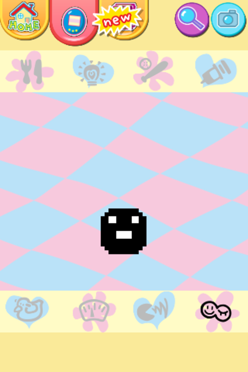 During the baby stage, the Tamagotchi pet cannot die but still requires constant care.