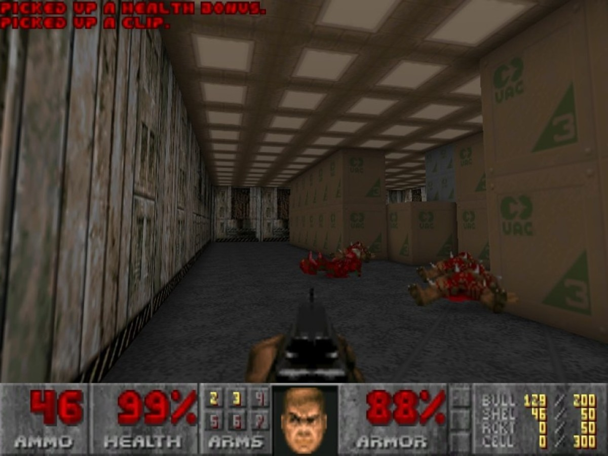 The game comes with The Ultimate Doom.