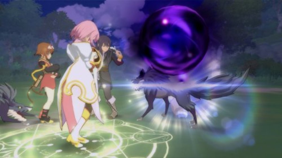 Screenshot from Tales of Vesperia