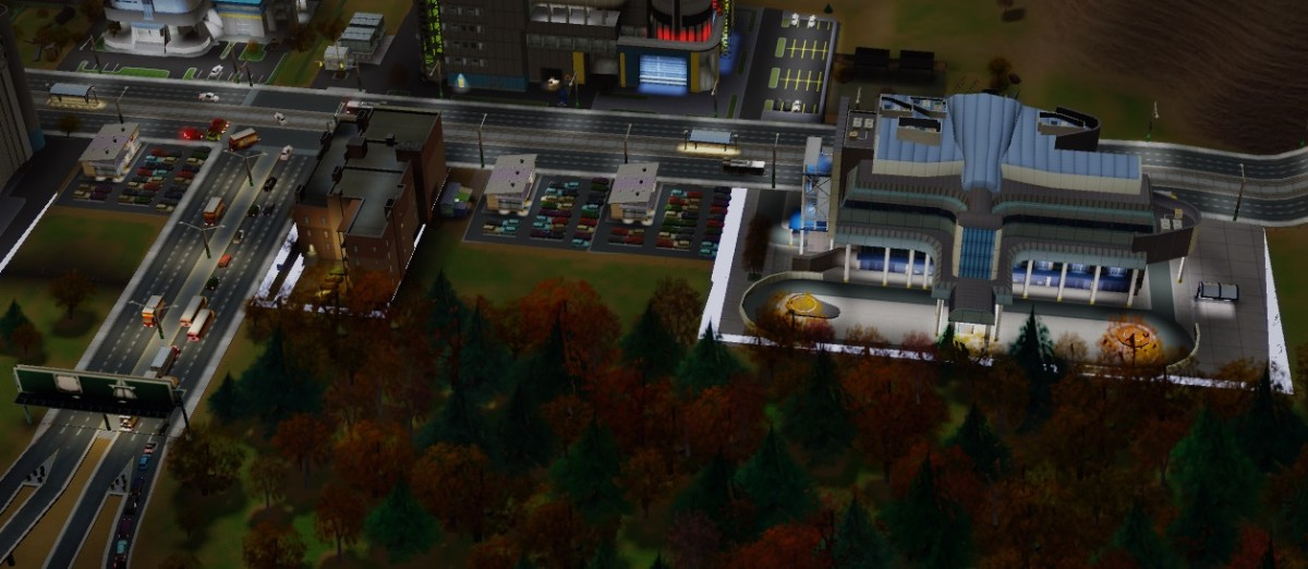 Make sure your Bus Terminal is both close to the highway and placed properly