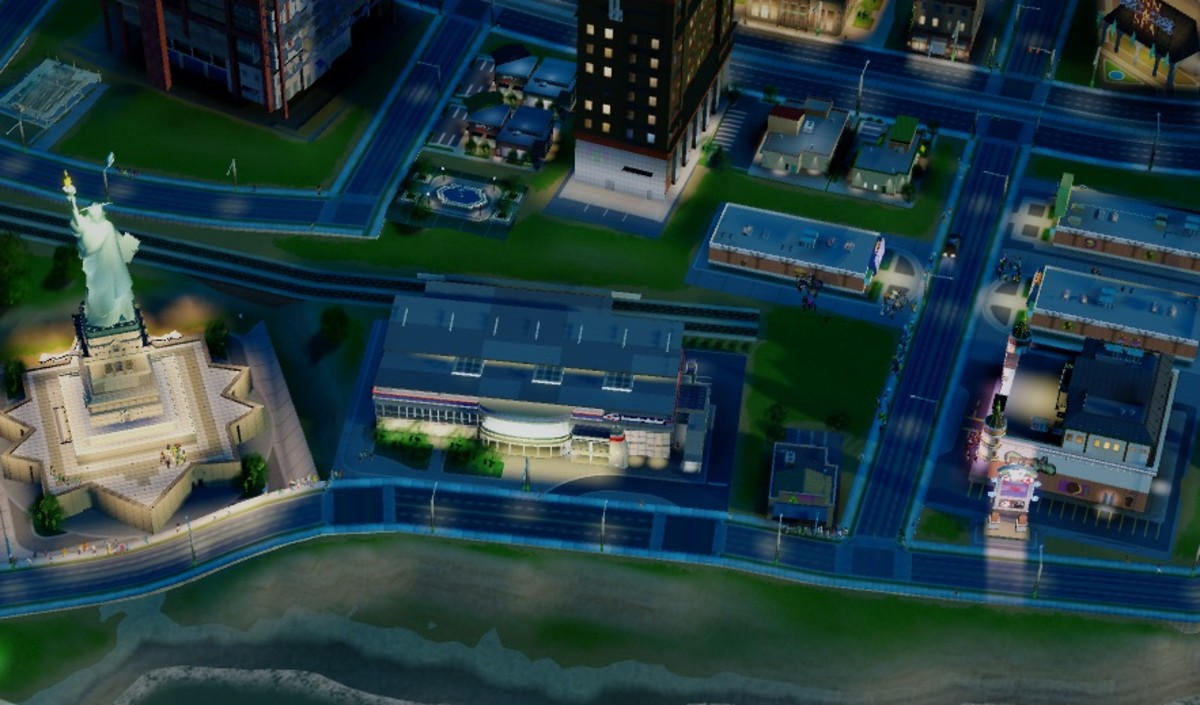 "When it comes to Casinos and Landmarks in ""SimCity 2013,"" closer is better"