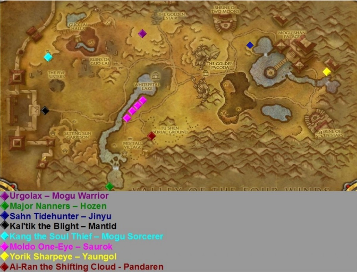 Rares in Vale of Eternal Blossoms.  Even though the map is different as of patch 5.4, the rares are still in the same location.