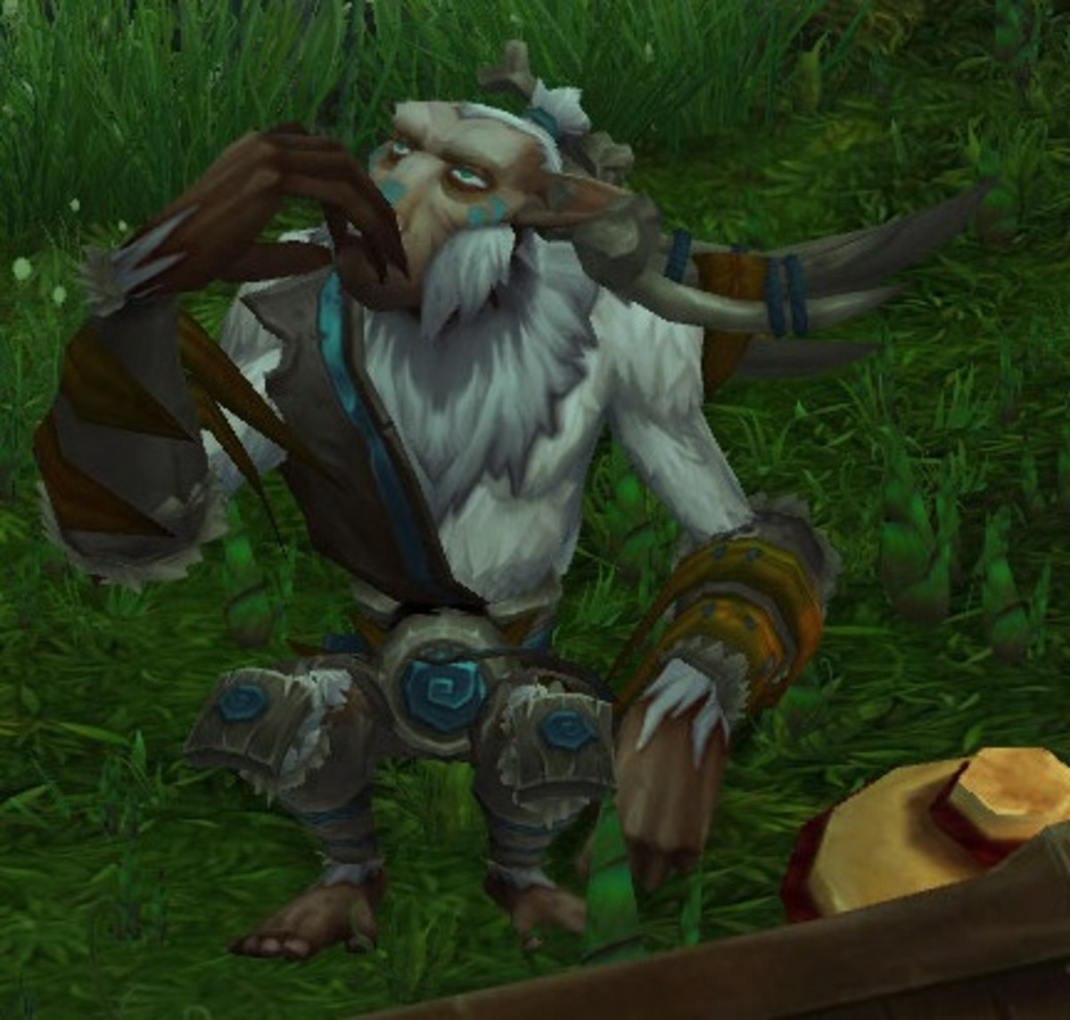 The Hozen, deep in thought before getting slaughtered.