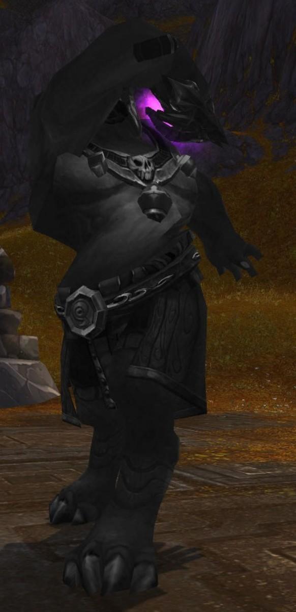 The Mogu Warrior striking a pose.