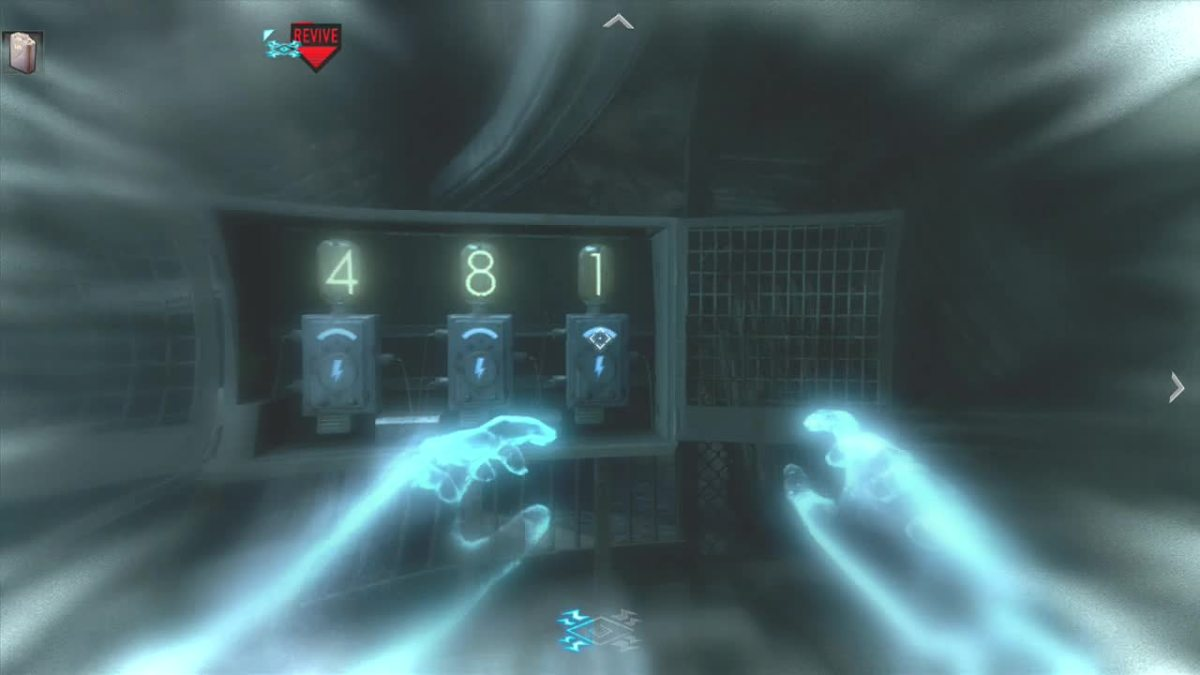 Enter the numbers in the Combo Switch while in afterlife.