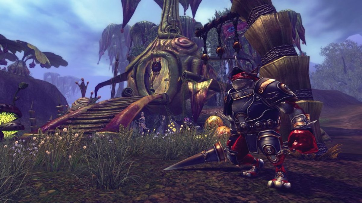 In RaiderZ, the character customization feature is much more involved than in other games.