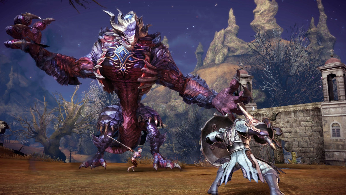 """In """"TERA,"""" PvP battles can happen anywhere, anytime."""