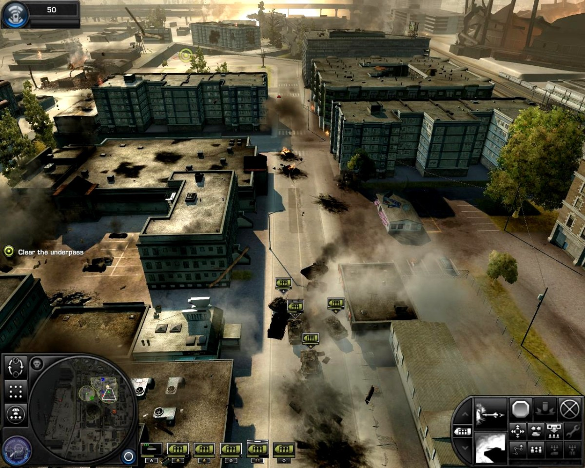 """World in Conflict"""