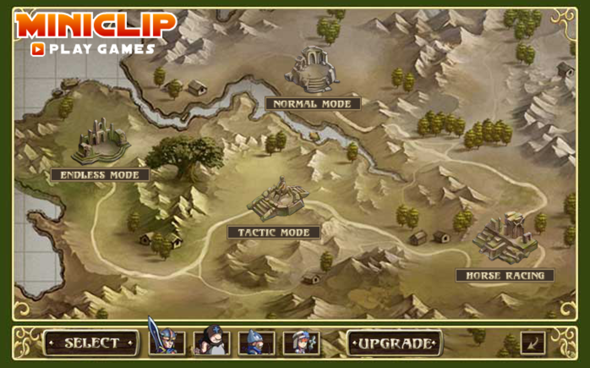 Forest Siege created by MiniClip. Images used for educational purposes only.