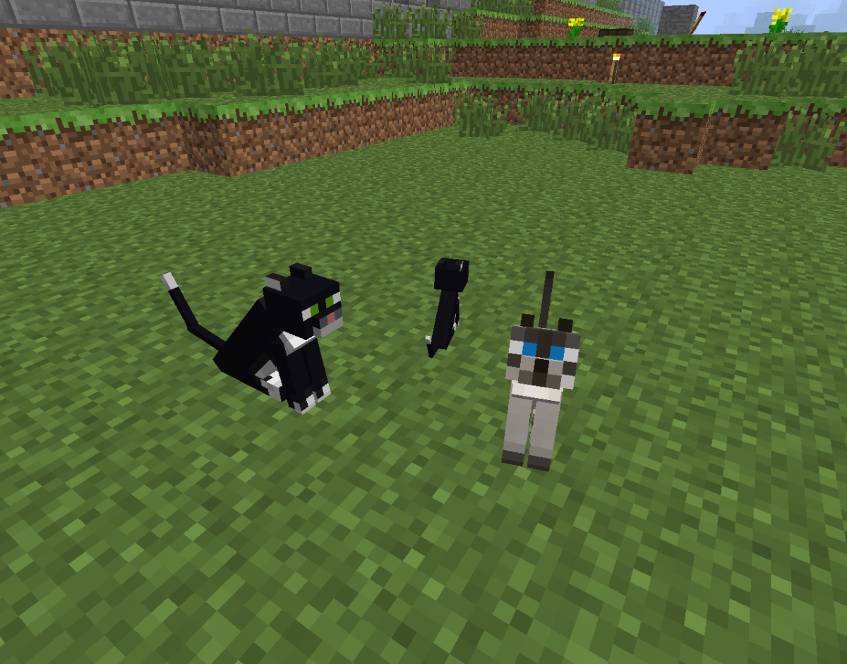 No, cats will not kill zombies for you, but their cuteness scares away creepers!