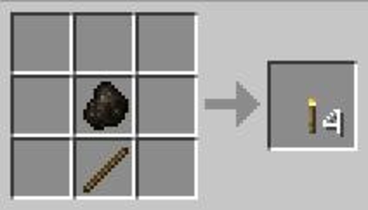 Torches are simple to make and integral to preventing mobs from spawning.