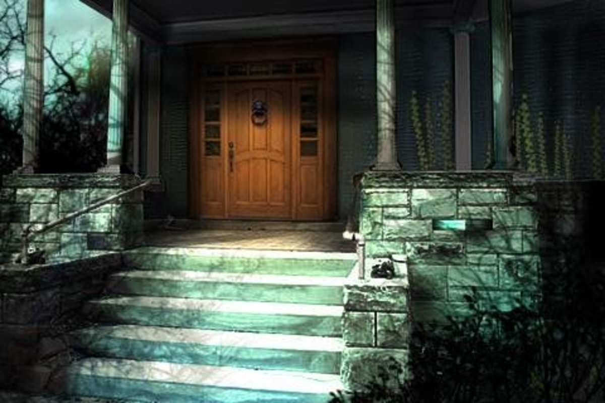 "Screenshot from ""The Secret of Grisly Manor."""