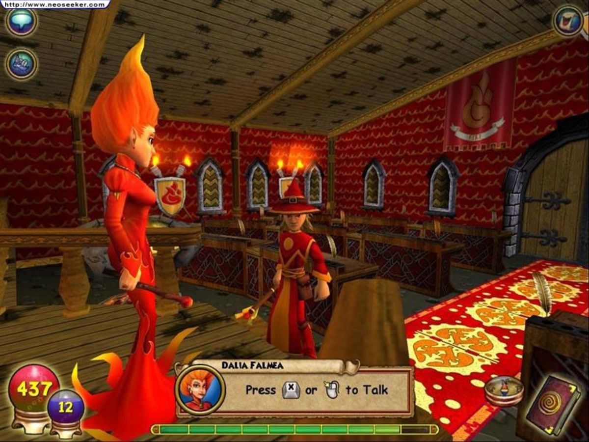 6 Games Like Wizard101