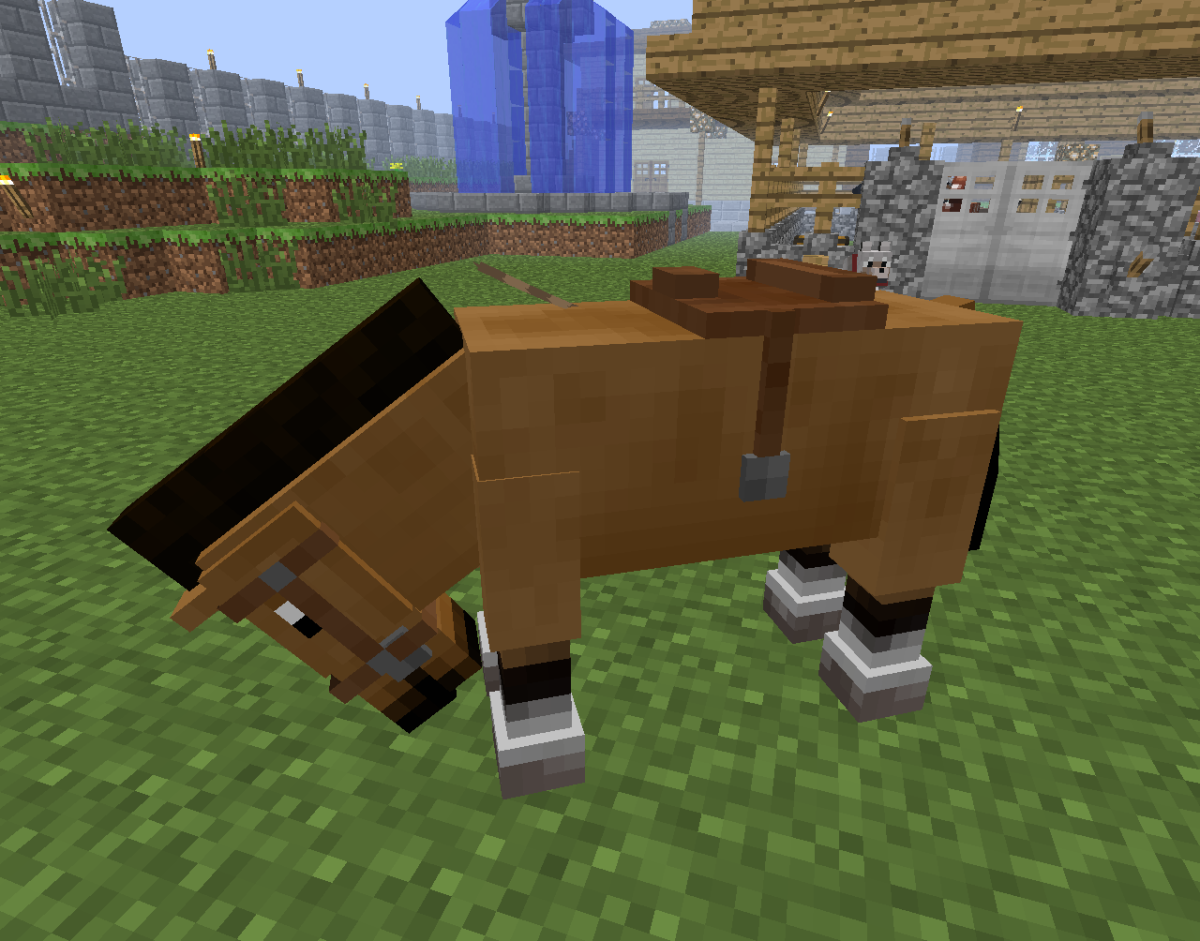 You can only control your horse's movement if it has a saddle equipped!