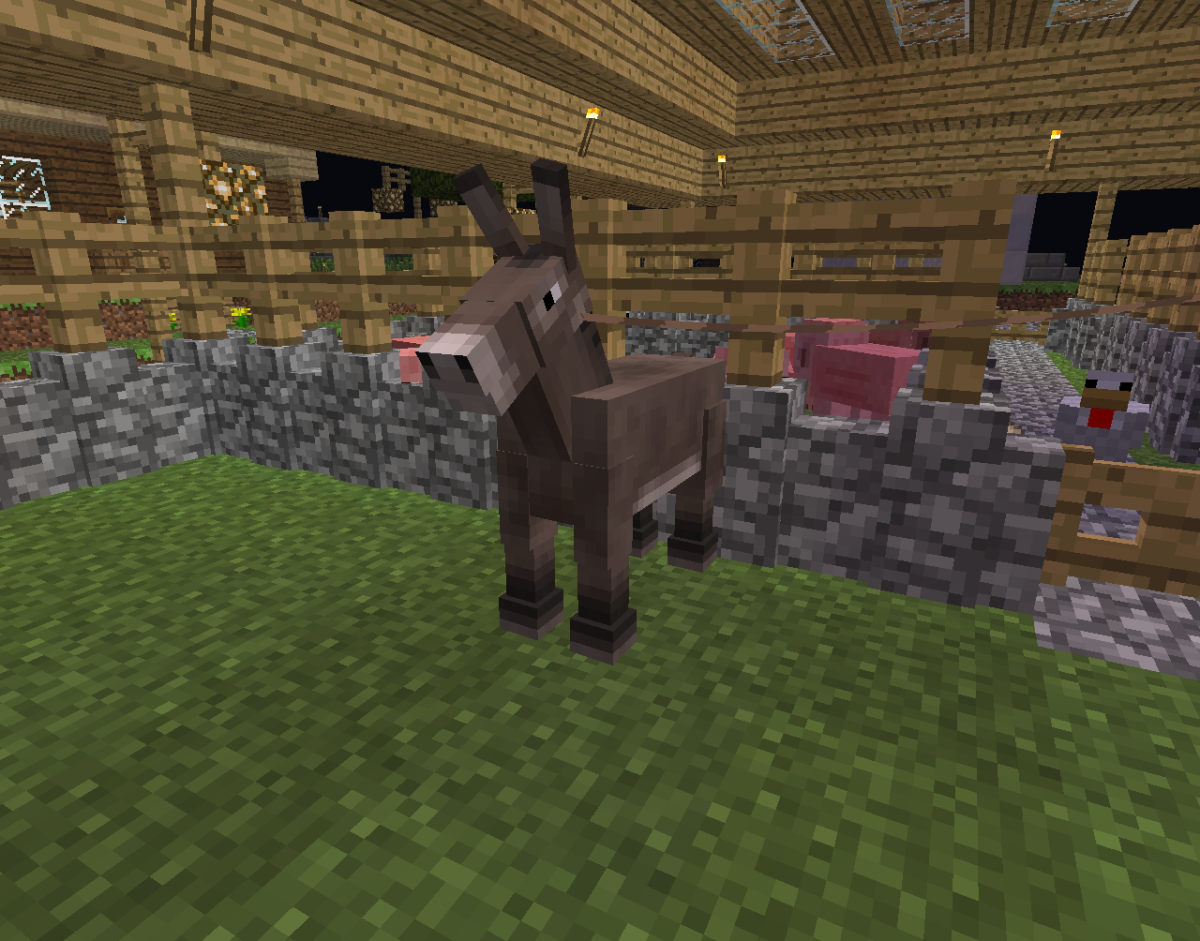 You need to breed a donkey with a normal horse to get a mule.