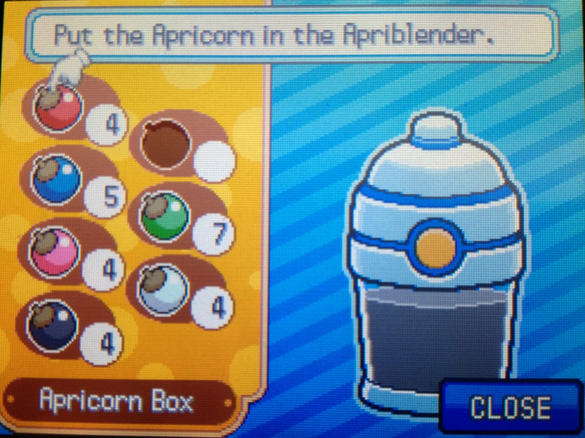 Apricorns can be used to make different types of Poké Balls, such as the Level Ball.