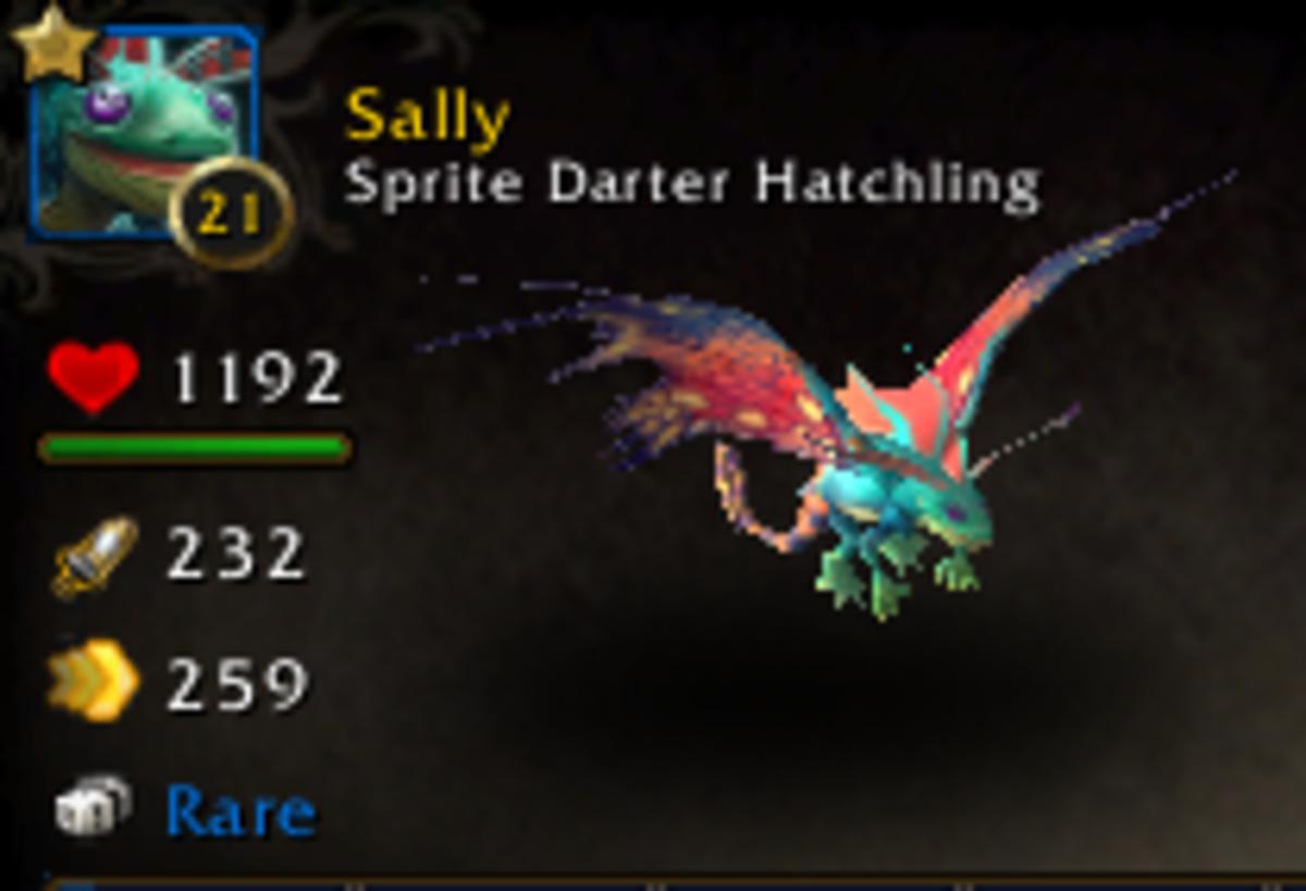 Sprite Darter Hatchling