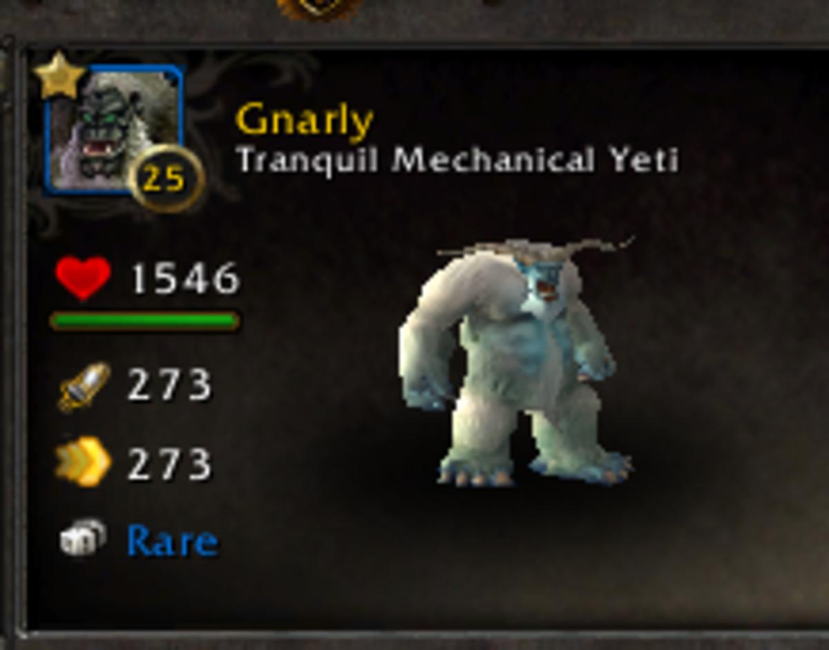 Tranquil Mechanical Yeti