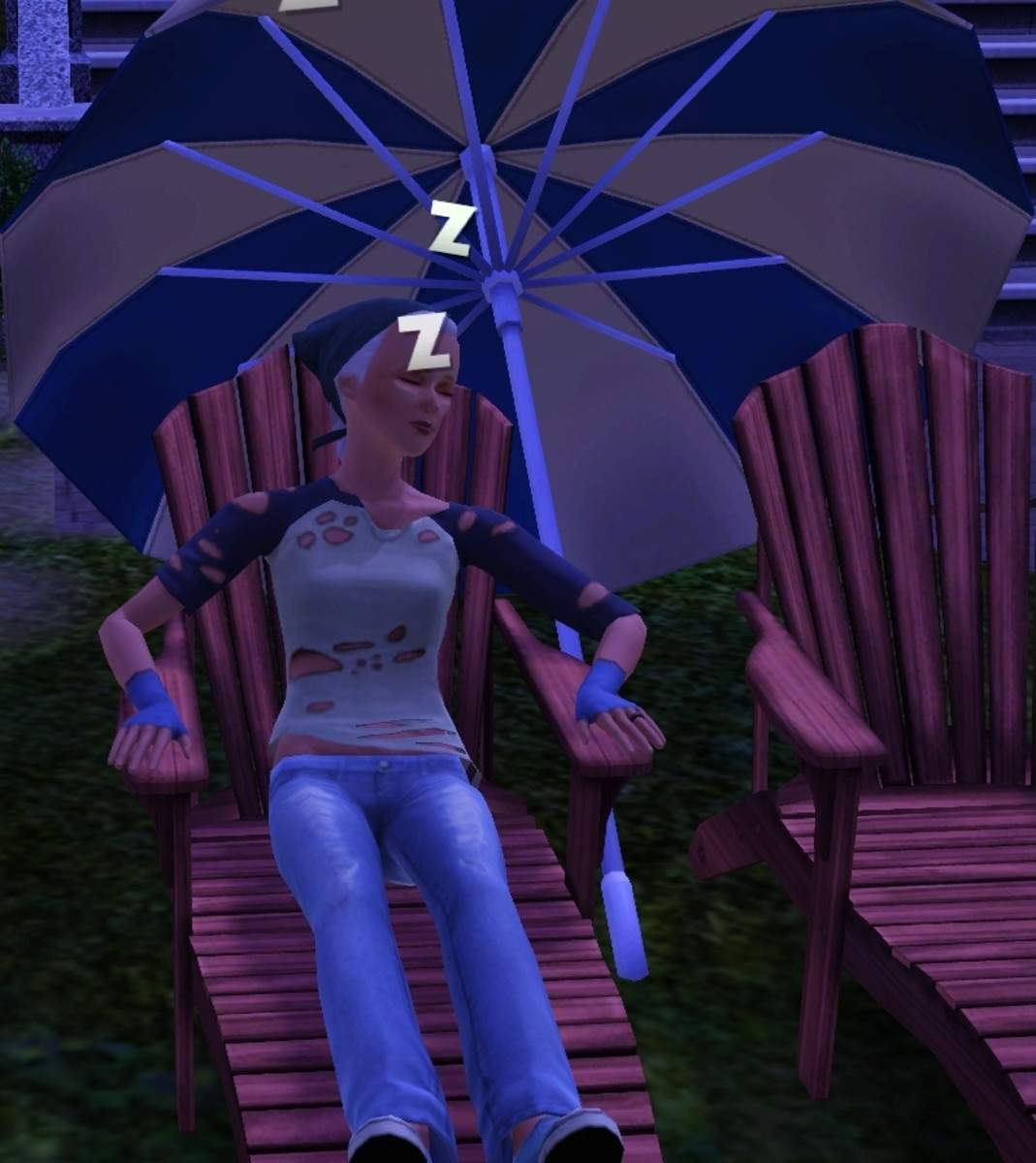 It may take a while, but you can nap your Sim's way to full rest.