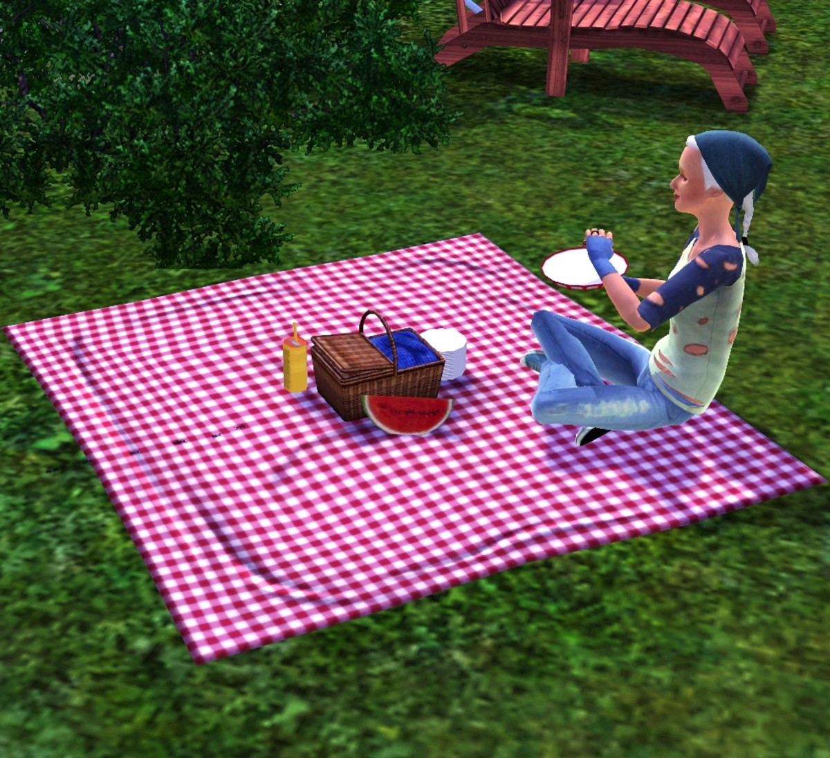 Picnics are a source of free food in The Sims 3.
