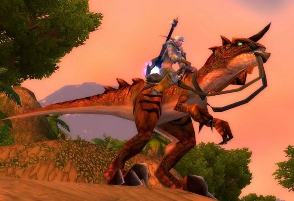 The Savage Raptor in game.