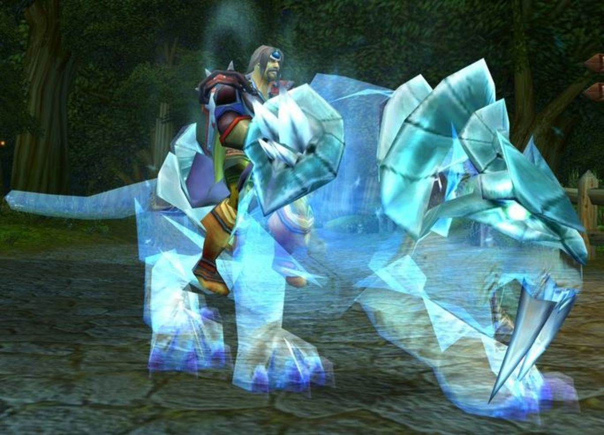The Spectral Tiger in game.