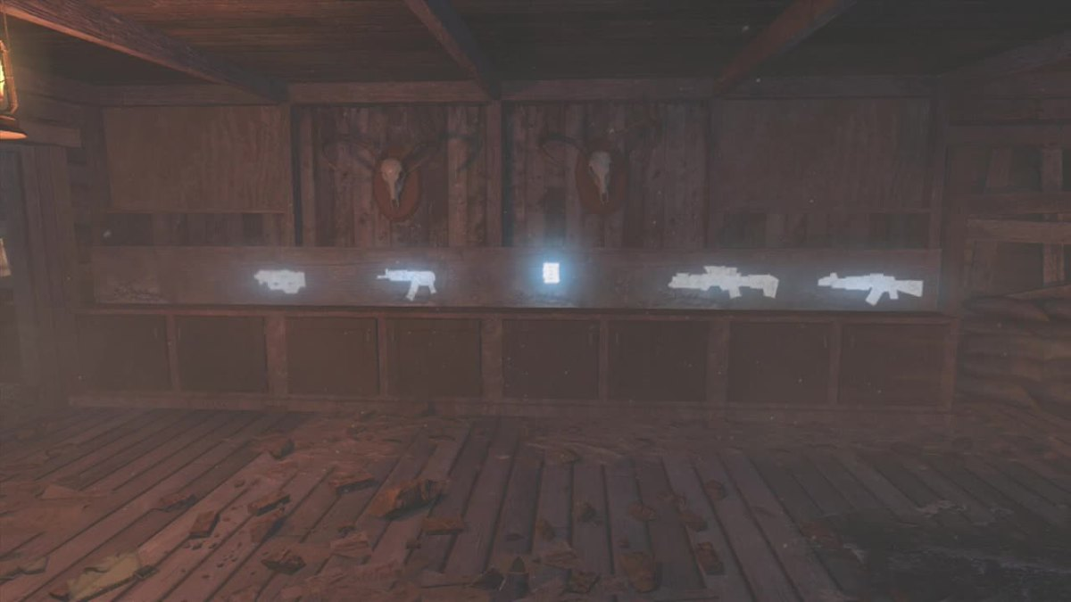 The other five weapon chalks are located in the bottom of the Gunsmith.